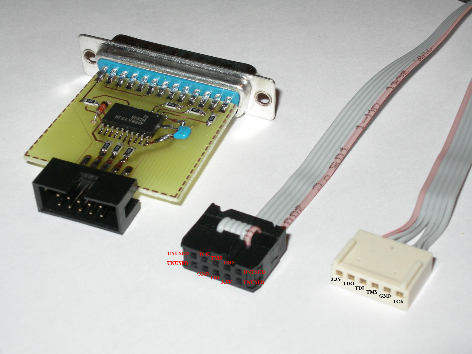 Turbo >> JTAG cable for CPLD programming ( k-mouse / profi interface )